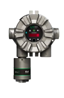 MSA General Monitors S5000 Gas Monitor with X-Cell gas sensor